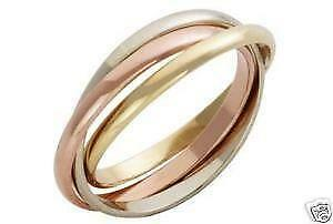 9ct Gold Russian Wedding Rings
