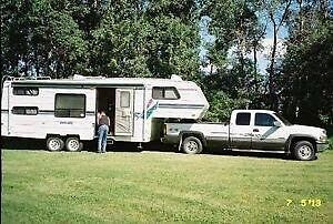 1997 26 ½ foot Vanguard 5th Wheel-cash only