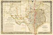 Antique Texas Maps