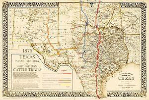 1870 Map Of Texas.Antique Texas Maps Ebay