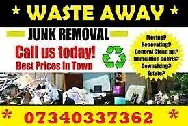 RUBBISH REMOVAL HOUSE GARAGE GARDEN WASTE CLEARANCE DEMOLITION 07340337362 HAMPSHIRE