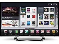 "LG 47"" inch LED Cinema 3D Smart TV"