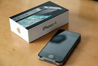 in mint shape with full accessories in box unlocked iphone 4
