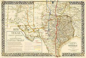 Antique maps ebay antique texas maps gumiabroncs Gallery
