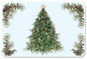 Christmas Vinyl Placemats Ebay