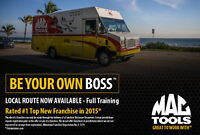 OWN A MAC TOOLS FRANCHISE!