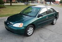 2001 honda civic only 116k mint manual
