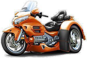 Awesome Honda Goldwing GL1800 Trike