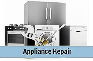 Washing machine, dryer, oven, dishwasher repair