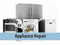 Washing machine, dryer, oven, dishwasher repair