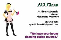 613 Cleans, We have your house cleaning duties covered!