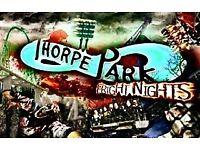 Thorpe Park Tickets Fright Night