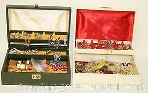 2 Jewelry Boxes Of Necklaces & Bracelets