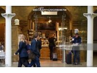 Waiters/Waitresses WANTED at Le Pain Quotidien in Kings Cross,St Pancras £7.20 ph +Great Benefits