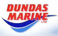 Boat Repair and Service at Dundas Marine – Winter Service!