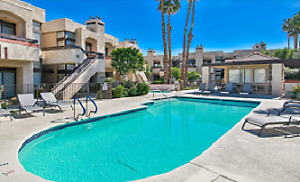 Beautiful 2 bed Palm Springs condo minimum 4 month rental