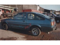 WANTED!! Any Toyota Corolla 1.6 GT Coupe / GTI