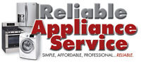 Reliable Appliance Repair - Fast & Reliable, 25+ Yrs Experience