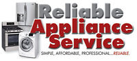 RELIABLE APPLIANCE REPAIR - CALL US FOR TOP QUALITY SERVICE