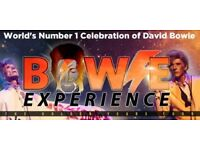BOWIE EXPERIENCE - THE GOLDEN YEARS TOUR