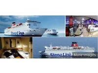 Belfast to Liverpool(Birkendhead) Stena Line ferry ticket 1Adult+1Child..free sale