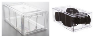 Clear Stackable Shoe Drawers