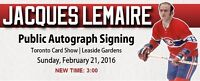 Montreal Canadiens Autograph Signings at the Toronto Card Show