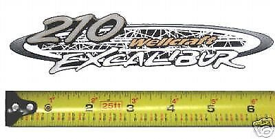 Wellcraft 210 Excalibur Boat Decal Sticker Gift 2002 2003