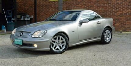 2004 Mercedes-Benz SLK200 Kompressor R170 Special Edition Cubanite Silver 5 Speed Automatic Roadster