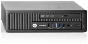 HP EliteDesk 800 G1 USDT (Ultra-Slim DeskTop) Intel i5- 4690s 3.2GHz