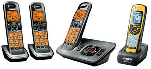 4 Uniden D1680 Cordless Phones with Answering system