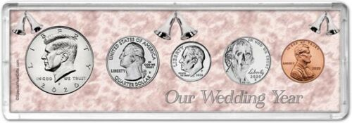 Our Wedding Year Coin Gift Set, 2020