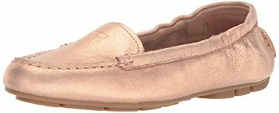 5a00af93b7e Details about Taryn Rose Womens Kristine Powder Metallic Driving Style  Loafer