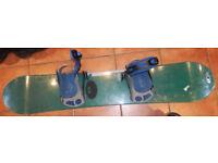 Snowboard Liquid Pursuit With Bindings 141cm
