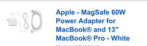 Looking for a MacBook charger