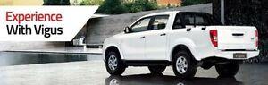 2015 JMC Vigus LX (4x4) White 5 Speed Manual Dual Cab Utility Maddington Gosnells Area Preview