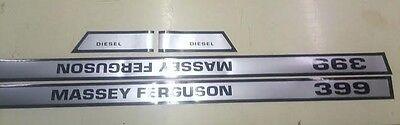 Massey Ferguson 399 Hood Decals