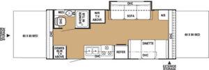 2004 Shamrock 232 Hybrid camper for sale