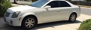 BEAUTIFUL 2003 Cadillac CTS Pearl White w/ Sparkle Top Coat Cornwall Ontario image 1