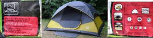 Tents: Ventura Instant 4-Person  and Eureka Apex 3XT