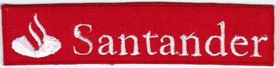 Banco Santander Banking Group F1 Scuderia Ferrari Car Racing Iron On Patch