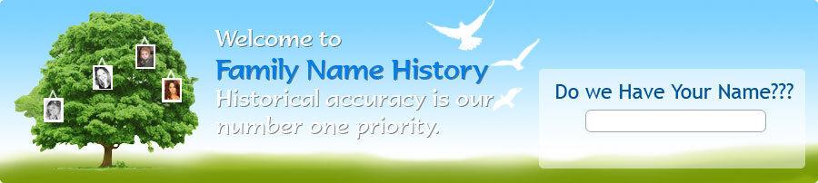 Heraldic Family Names