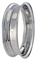 Vespa PX LML T5 125 150 200 Chrome Split Wheel Rim