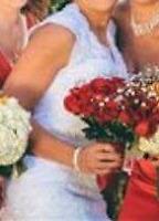Stunning glittery wedding dress