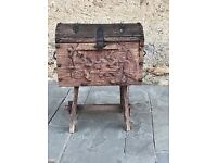 Antique Trunk Fabulous Design more than 100+years old