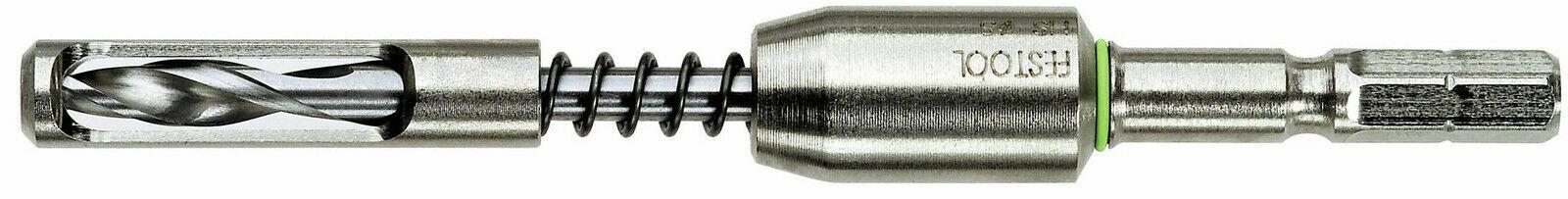FESTOOL 492525 Zentrierbohrer ZB HS D 5 EURO CE Ø=5 mm für Euroschraube 6,3 mm