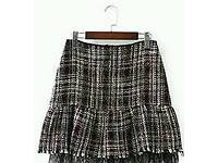 New Ladies Fashion Grey and Black Skirt