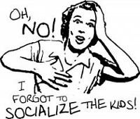 Socialize your kids