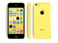 Refurbished Apple iPhone 5c Yellow 8Gb Unlocked Good Condition 6 Month Warranty, USB laptop charge
