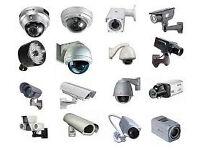 full 4 cameras with dvr plus memory and 4 cctv cameras